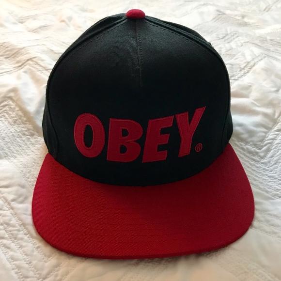 32d30cb61 OBEY Snapback Hat